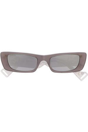 Gucci Solbriller - GG0516S 002 rectangular-frame sunglasses