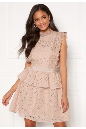 Moments New York Olivia Crochet Dress Light pink 34
