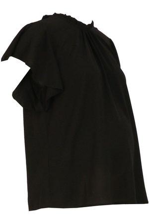 Boohoo Maternity Woven Frill Sleeve Blouse