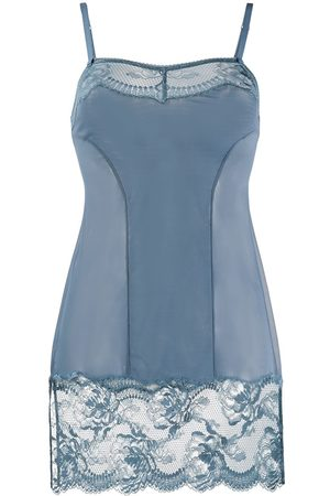 La Perla Brigitta lace-trimmed slip dress