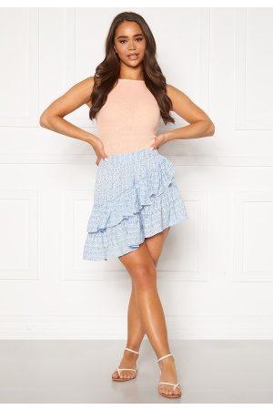 Only Addie Short Skirt Cashmere Blue 42