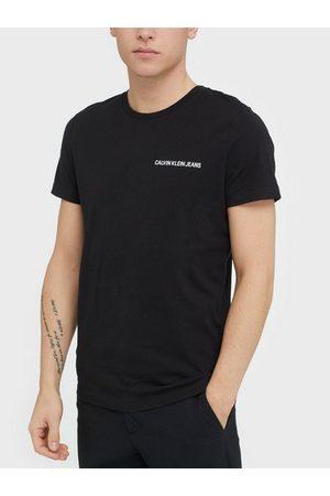 Calvin Klein Chest Institutional Slim Tee T-skjorter og singleter Svart