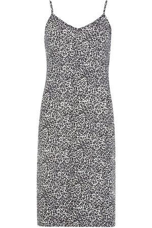 Boohoo Leopard Print Slip Dress