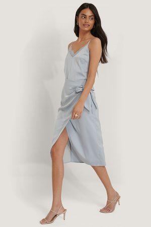 NA-KD Wrap Tie Skirt