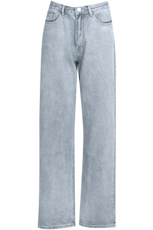 Boohoo Tall Denim Acid Wash Boyfriend Jeans