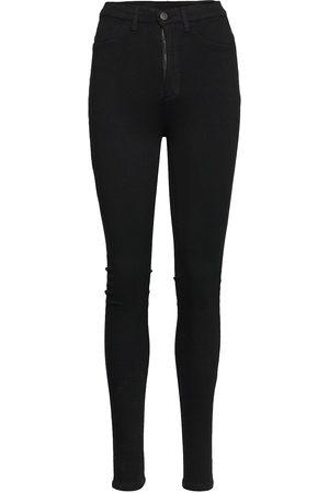 SPARKZ COPENHAGEN Freja Black Pants Stramme Bukser Stoffbukser