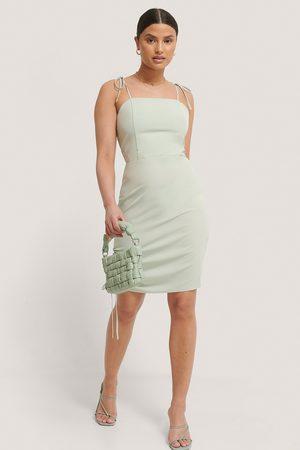 NA-KD Drawstring Mini Dress