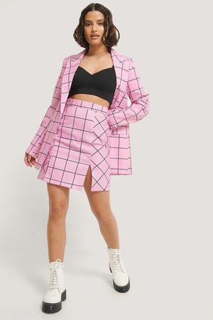 NA-KD Dame Miniskjørt - Side Slit Mini Skirt