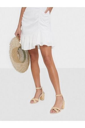 NLY Shoes Dame Sandaler - Braided Block Heel Sandal