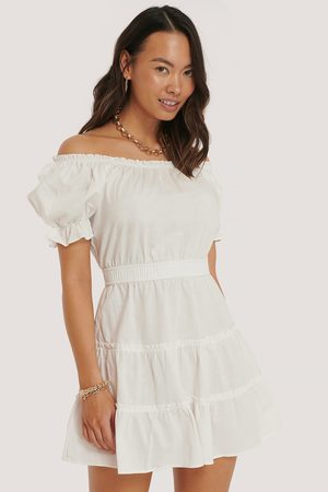 NA-KD Dame Korte kjoler - Off Shoulder Mini Dress