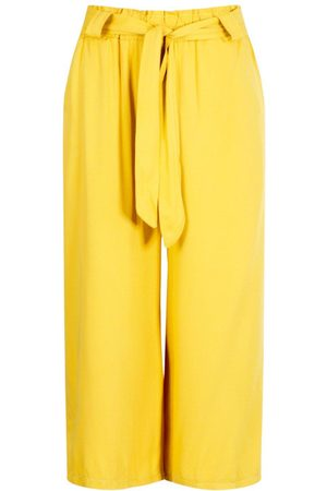 Boohoo Relaxed Tie Waist Woven Culottes