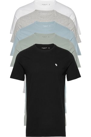 Abercrombie & Fitch Crew Multipack T-shirts Short-sleeved Multi/mønstret