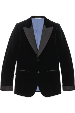 Gucci Fitted velvet jacket