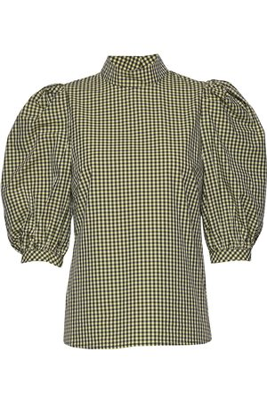 Custommade Tami Blouses Short-sleeved Grønn