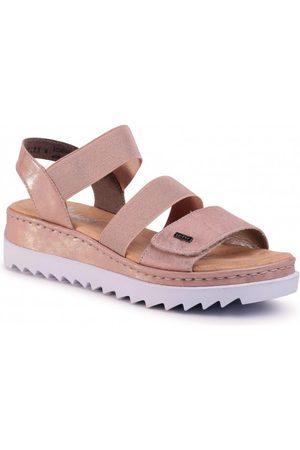 Rieker Dame Sandaler - Platform Sandals