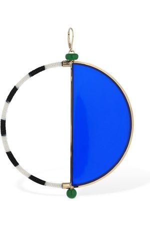 Missoni Dame Øreringer - Plexi & Knit Maxi Hoop Mono Earring