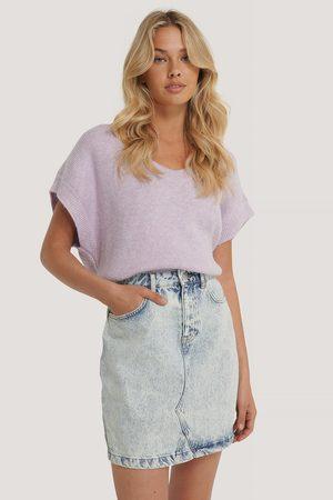 NA-KD Dame Miniskjørt - Denim Mini Skirt