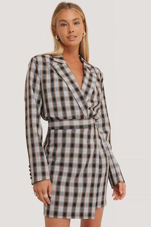 NA-KD Dame Miniskjørt - Asymmetrical Mini Skirt