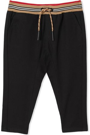 Burberry Icon Stripe drawstring trousers