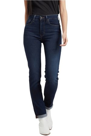 Levi's High-rise straight jeans