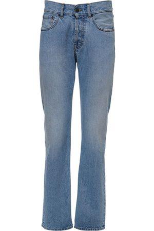 Maison Margiela Cotton Denim Skinny Leg Jeans