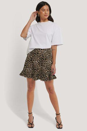 NA-KD Mini Flounce Skirt