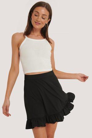 NA-KD Dame Miniskjørt - Mini Flounce Skirt