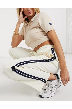 Russell Athletic Dame Joggebukser - Archive joggers in cream