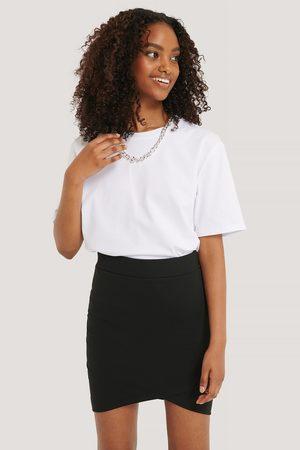 NA-KD Overlap Mini Skirt
