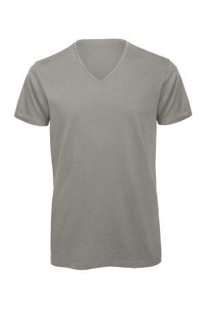 B & C Collection Herre Kortermede - B and C Organic Inspire Men T-shirt V-Neck * Fri Frakt