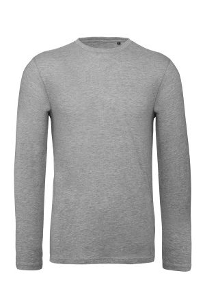 B & C Collection Herre Langermede - B and C Organic Inspire Men Long Sleeve T * Fri Frakt