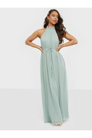 NLY Eve Flowy High Neck Gown