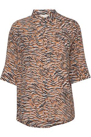 Munthe Mate Blouses Short-sleeved Creme