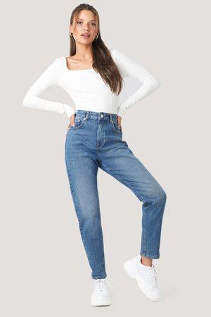 NA-KD Dame High waist - Mom Jeans