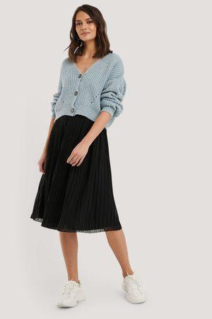 NA-KD Pleated Midi Skirt