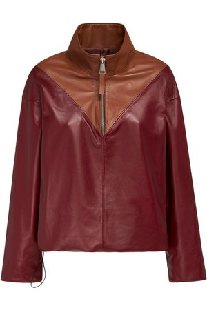 NYNNE Avery Two Tone Leather Top