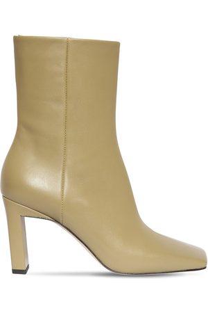 Wandler Dame Skoletter - 85mm Isa Leather Ankle Boots