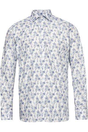 Eton Herre Skjorter - Watercolour Paisley Shirt Skjorte Uformell