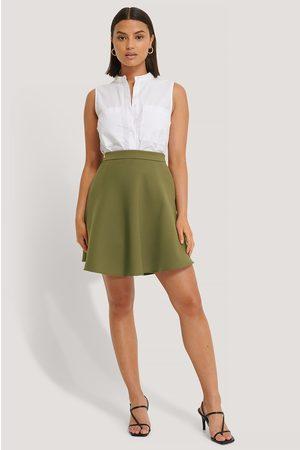 NA-KD Dame Miniskjørt - Woven Mini Skirt