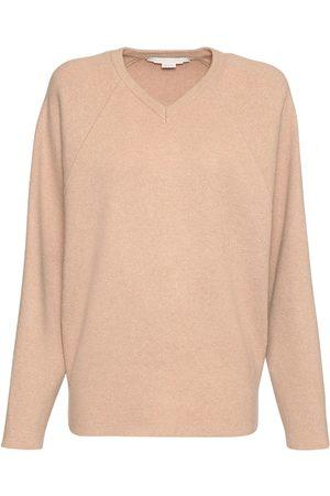 Stella McCartney V Neck Wool Knit Sweater