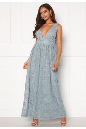 Y.A.S Cheshire SL Maxi Dress Blue Heaven L