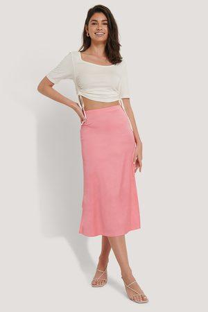 NA-KD Satin Skirt