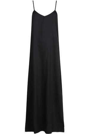Boohoo Plunge Back Strappy Maxi Dress