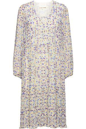 Notes Du Nord Plaza Recycled Dress Knelang Kjole Multi/mønstret