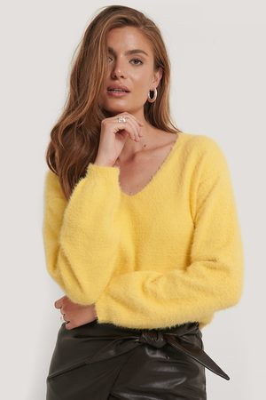 NA-KD Feather Yarn Knitted Sweater