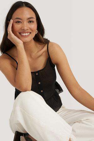 Trendyol Dame Singleter - Button Detail Top