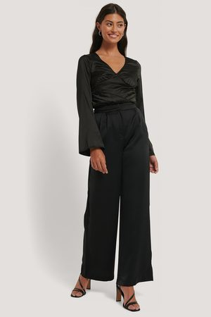 NA-KD High Waist Flowy Pants