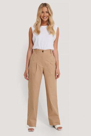NA-KD Heavy Cotton-blend Pants