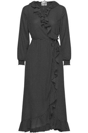 Just Female Niro Maxi Wrap Dress Maxikjole Festkjole
