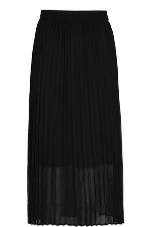 Just Female Roe Pleated Skirt Langt Skjørt